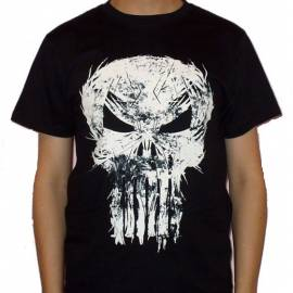 Tricou THE PUNISHER - Scratched Logo