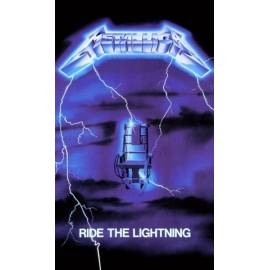 Steag METALLICA - Ride The Lightning