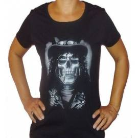 Tricou Girlie SLASH - Skull