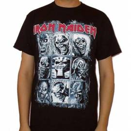 Tricou IRON MAIDEN - Eddie Images