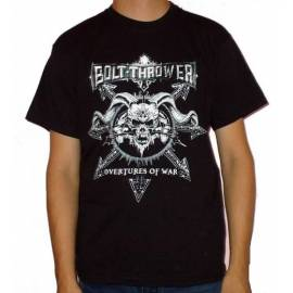 Tricou BOLT THROWER - Overtures of War