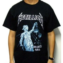 Tricou METALLICA - ... And Justice For All