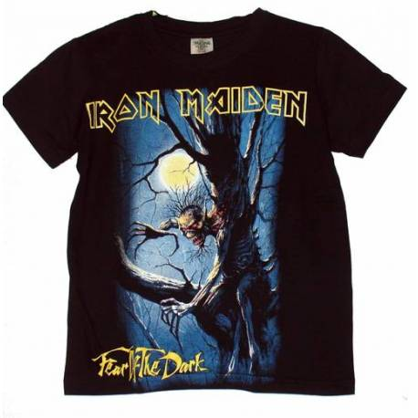 Tricou pentru copii IRON MAIDEN - Fear Of The Dark