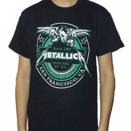 Tricou METALLICA - Seek & Destroy Since 1981