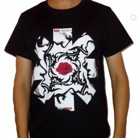 Tricou RED HOT CHILI PEPPERS - BSSM White