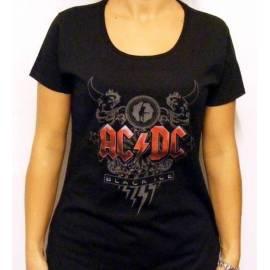 Tricou girlie AC/DC - Black Ice