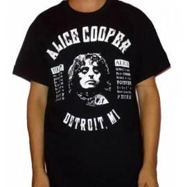Tricou ALICE COOPER - Detroit. MI 1972