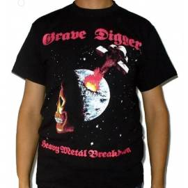 Tricou GRAVE DIGGER - Heavy Metal Breakdown