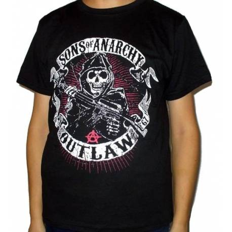 Tricou SONS OF ANARCHY - Outlaw