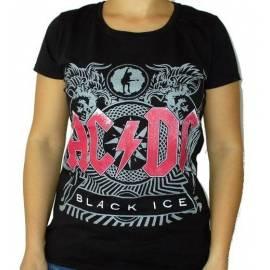 Tricou fete AC/DC - Black Ice