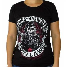 Tricou fete SONS OF ANARCHY - Outlaw