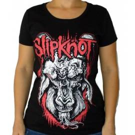 Tricou fete SLIPKNOT - WHite Goat