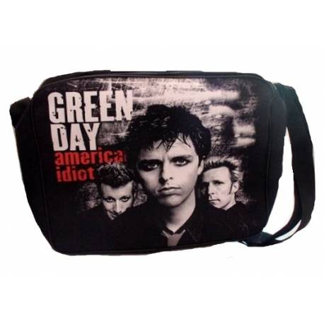 Geanta GREEN DAY - American Idiot/Band
