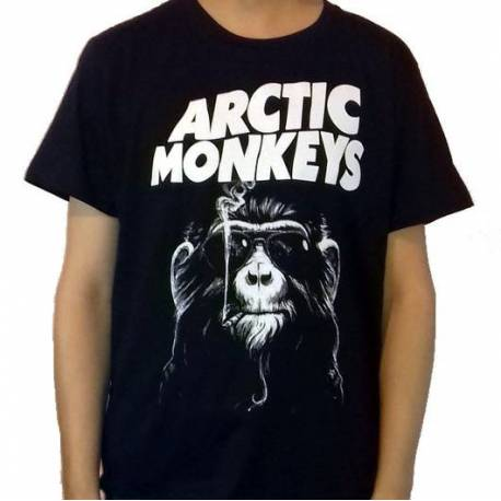 Tricou ARCTIC MONKEYS - Smoking Monkey