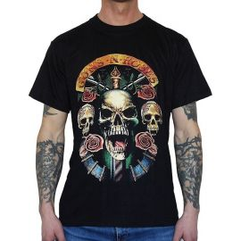 Tricou GUNS N ROSES - Skulls and Roses