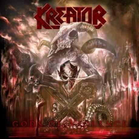 CD Kreator - Gods of Violence