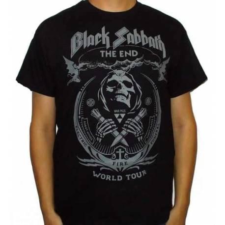 Tricou BLACK SABBATH - The End World Tour