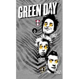 Steag GREEN DAY - ¡Uno! ¡Dos! ¡Tré!
