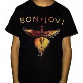 Tricou BON JOVI - Gold Logo