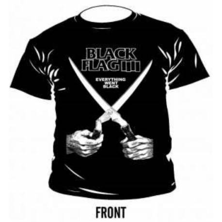 Tricou BLACK FLAG - Everything Went Black