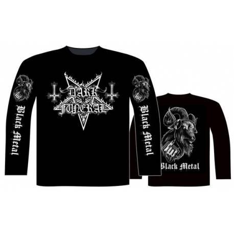 Tricou Long sleeve DARK FUNERAL Logo - Black Metal