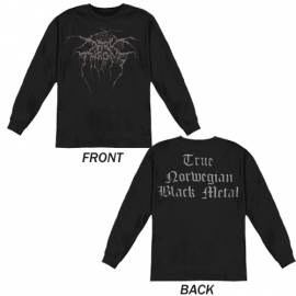 Tricou Long sleeve DARKTHRONE - True Norwegian Black Metal