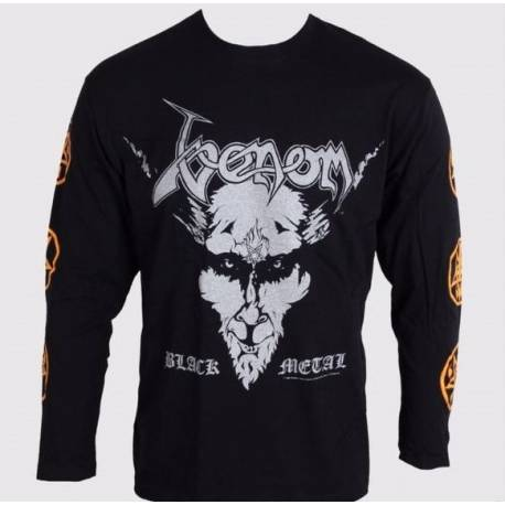 Tricou Long sleeve VENOM - Black Metal