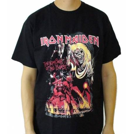 Tricou IRON MAIDEN - The Number of the Beast