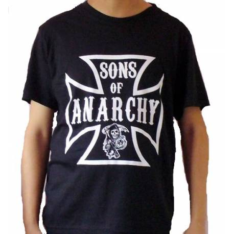 Tricou SONS OF ANARCHY - Iron Cross