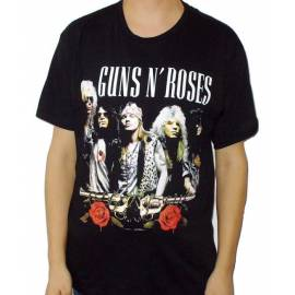 Tricou GUNS N'ROSES - Band