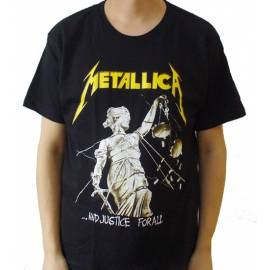 Tricou METALLICA - ... And Justice For All - Old Logo
