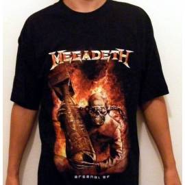 Tricou MEGADETH - Arsenal - Model 2