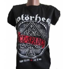 Tricou pentru copii MOTORHEAD - Ace of Spades Red Logo