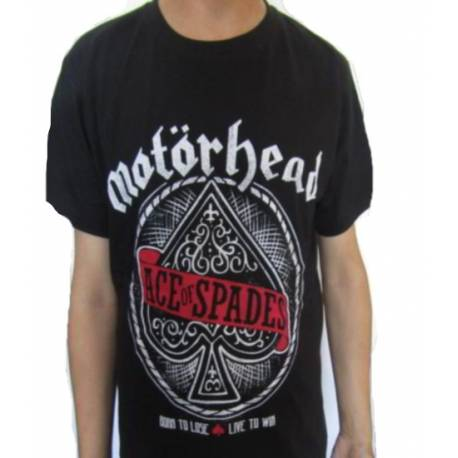 Tricou MOTORHEAD - Ace of Spades red logo