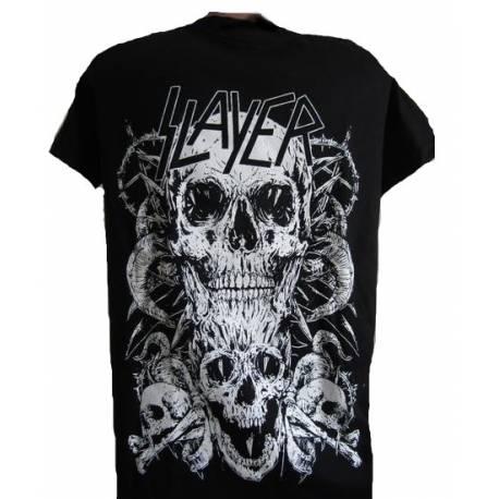 Tricou pentru copii SLAYER - White Skull