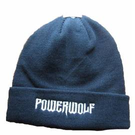 Caciula POWERWOLF - Logo Alb