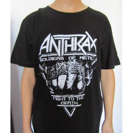 Tricou ANTHRAX - Soldiers of Metal - Fight To The Death