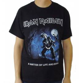 Tricou IRON MAIDEN - A Matter Of Life And Death - Benjamin Breeg