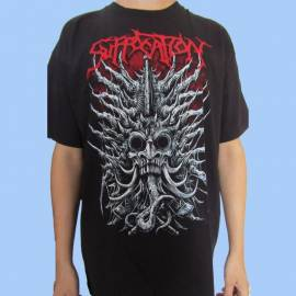 Tricou SUFFOCATION - Skull