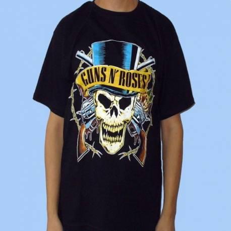 Tricou GUNS N'ROSES - Logo galben