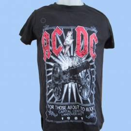 Tricou pentru copii AC/DC - For Those About To Rock