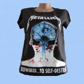 Tricou fete METALLICA - Hardwired... To Self-Destruct