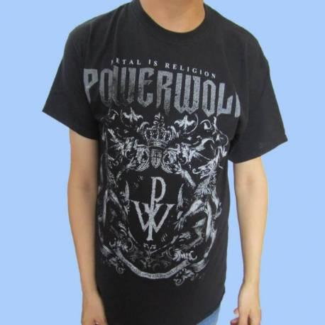 Tricou POWERWOLF - Metal is Religion