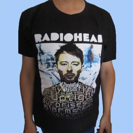 Tricou RADIOHEAD - Thom Yorke