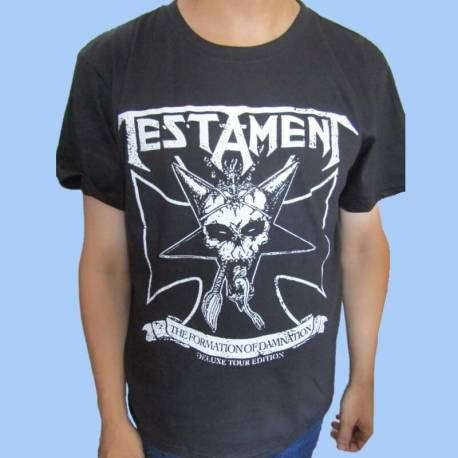 Tricou TESTAMENT - The Formation of Damnation