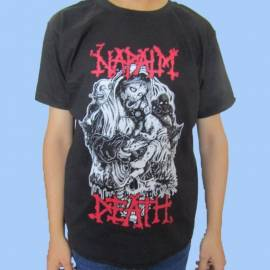 Tricou NAPALM DEATH - Zombies