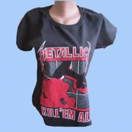 Tricou fete METALLICA - Kill em All