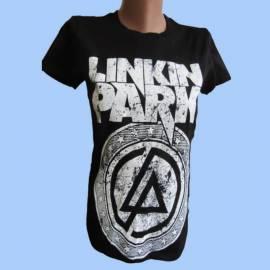 Tricou girlie LINKIN PARK - White Logo