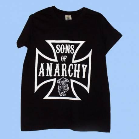 Tricou pentru copii SONS OF ANARCHY - Iron Cross