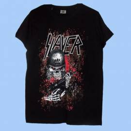 Tricou pentru copii SLAYER - Red Eyes Soldier